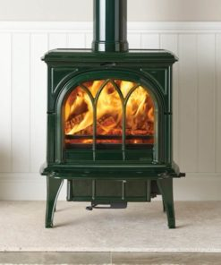 Stovax Huntingdon 35 Multifuel Stove Laurel Green