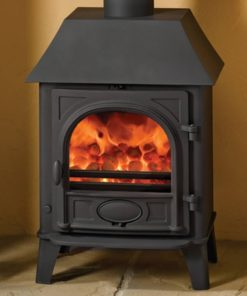 Stovax Stockton 5 Multifuel Stove with canopy