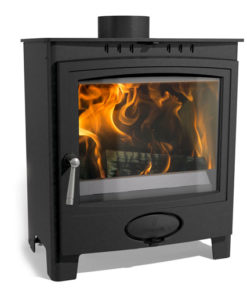 Arada Ecoburn Plus 5 Widescreen DEFRA Approved Multi-fuel stove